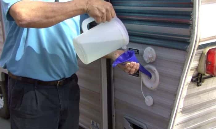 How-much-bleach-do-I-put-in-my-RV-water-tank