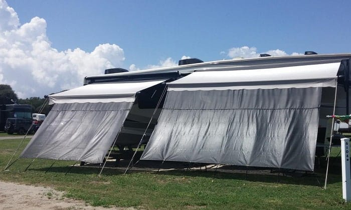 best rv awning shade