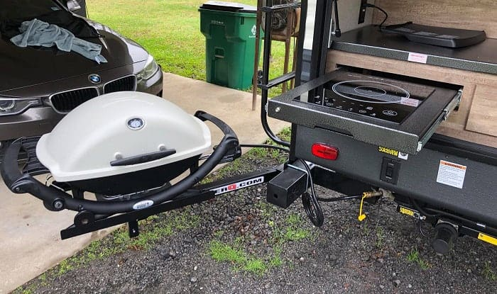how to connect gas grill to the rv