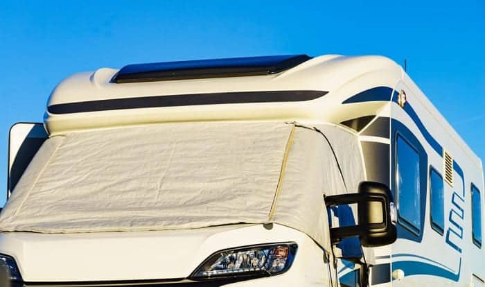 best rv windshield cover